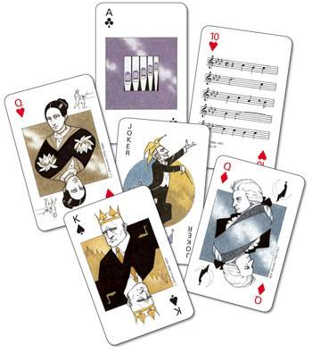 Play Music - pelikortit - pack of cards