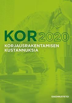 Korjausrakentamisen kustannuksia 2020