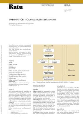 Ratu S-1217, Rakennustyön työturvallisuusriskien arviointi