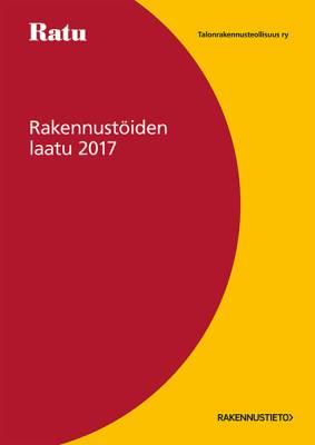 Rakennustöiden laatu RTL 2017 -