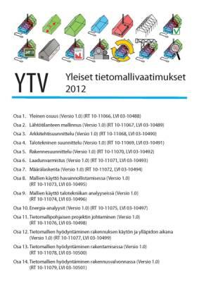 Yleiset tietomallivaatimukset 2012. Osat 1-14.