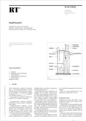 RT 66-10530, Pumppaamot