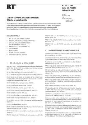 RT 97-11199, Liikuntapaikkarakentaminen. Ohjeita ja kirjallisuutta