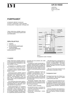 LVI 23-10222, Pumppaamot