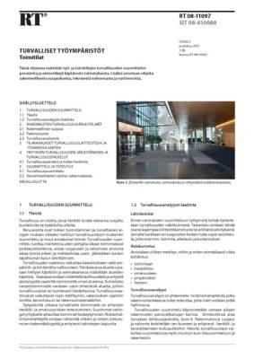 RT 08-11097, Turvalliset työympäristöt. Toimitilat