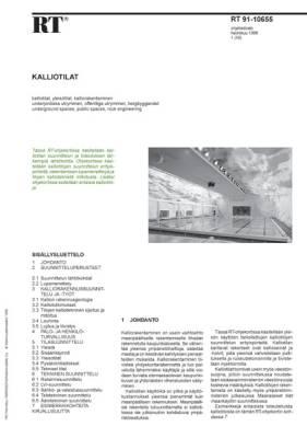 RT 91-10655, Kalliotilat