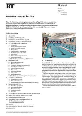 RT 103095, Uima-allasvesien käsittely