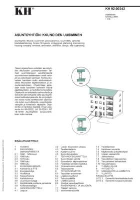 KH 92-00342, Asuntoyhtiön ikkunoiden uusiminen
