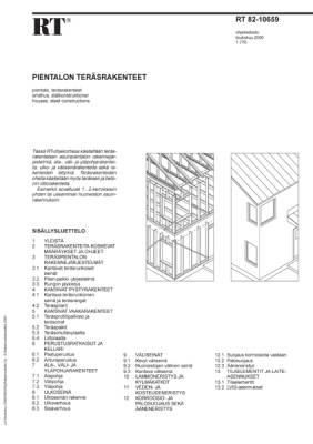 RT 82-10659, Pientalon teräsrakenteet