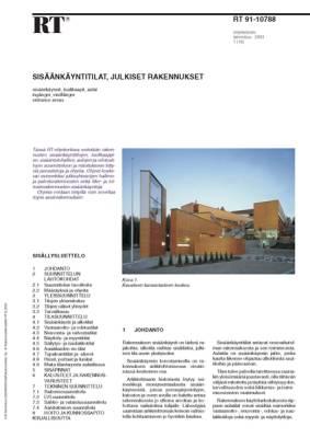 RT 91-10788, Sisäänkäyntitilat, julkiset rakennukset