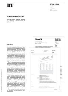 RT 83-11010, Yläpohjarakenteita