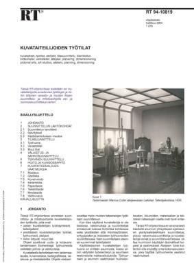 RT 94-10819, Kuvataiteilijoiden työtilat