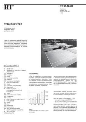 RT 97-10450, Tenniskentät