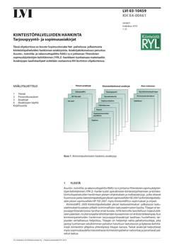 LVI 03-10459, Kiinteistöpalveluiden hankinta. Tarjouspyyntö- ja sopimusasiakirjat