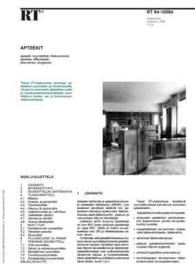 RT 94-10864, Apteekit
