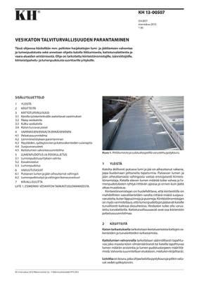 KH 13-00507, Vesikaton talviturvallisuuden parantaminen