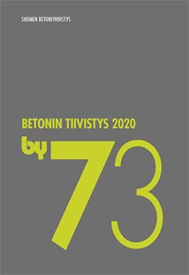 by 73 Betonin tiivistys 2020