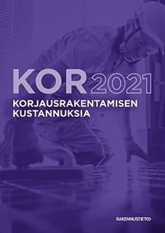 Korjausrakentamisen kustannuksia 2021