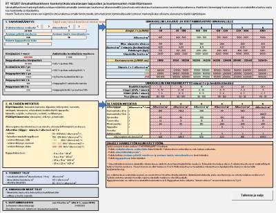 RT 103297, Uimahallihankkeen hanketyökalu alustavaan laajuuden ja kustannusten määrittämiseen